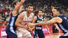 Polscy koszykarze przegrali z Argentyną