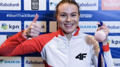 Trzecie miejsce Natalii Maliszewskiej na 1000 m