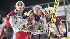 Zmiana w składzie Polaków na konkursy Pucharu Świata w Lahti