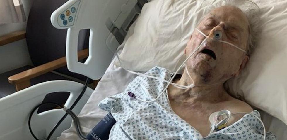 10 tys. funtów nagrody za pomoc w ujęciu sprawców pobicia 98-letniego weterana wojennego!