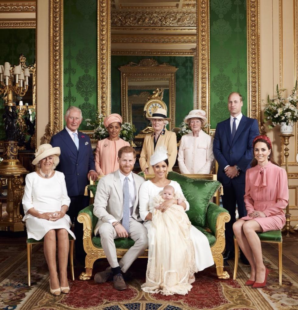 Archie Harrison Mountbatten-Windsor został dzisiaj ochrzczony
