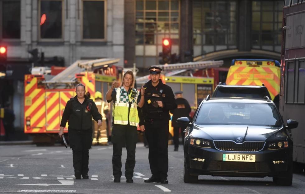 Atak nożownika w Londynie.