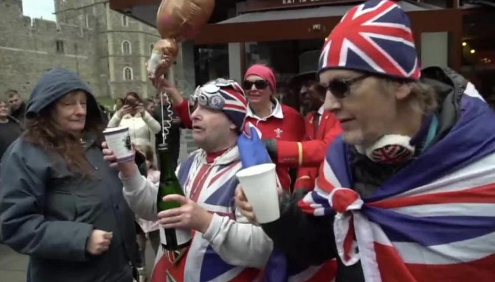 Brytyjczycy świętują narodziny nowego członka rodziny królewskiej