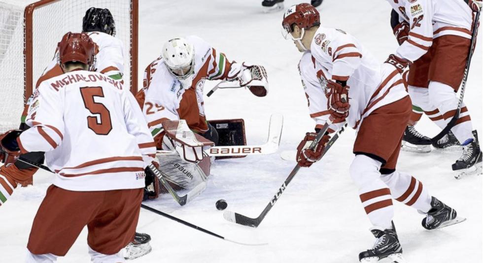 Hokejowa reprezentacja Polski wygrała z Holandią 8:0