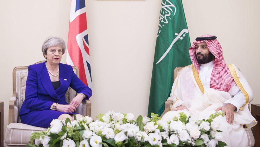 May rozmawiała z saudyjskim księciem o zabójstwie Chaszodżdżieg0