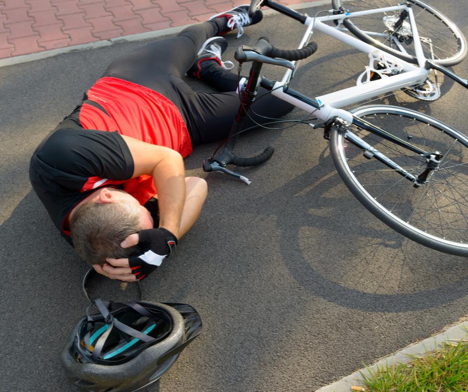 Odszkodowanie dla rowerzysty w UK.