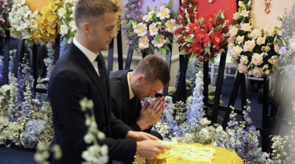 Pogrzeb właściciela Leicester City.