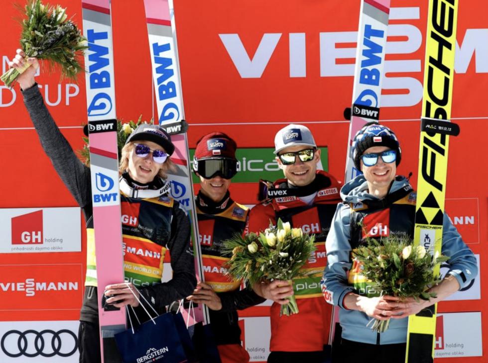Polska wygrała konkurs drużynowy w Planicy