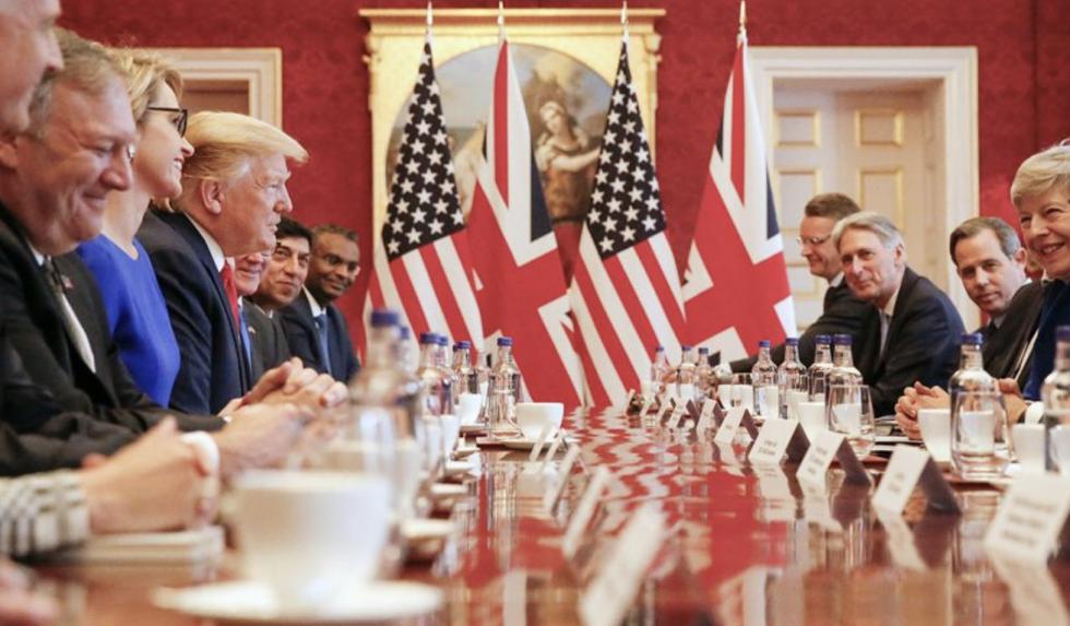 Trump w Londynie: Najwspanialszy sojusz, jaki widział świat