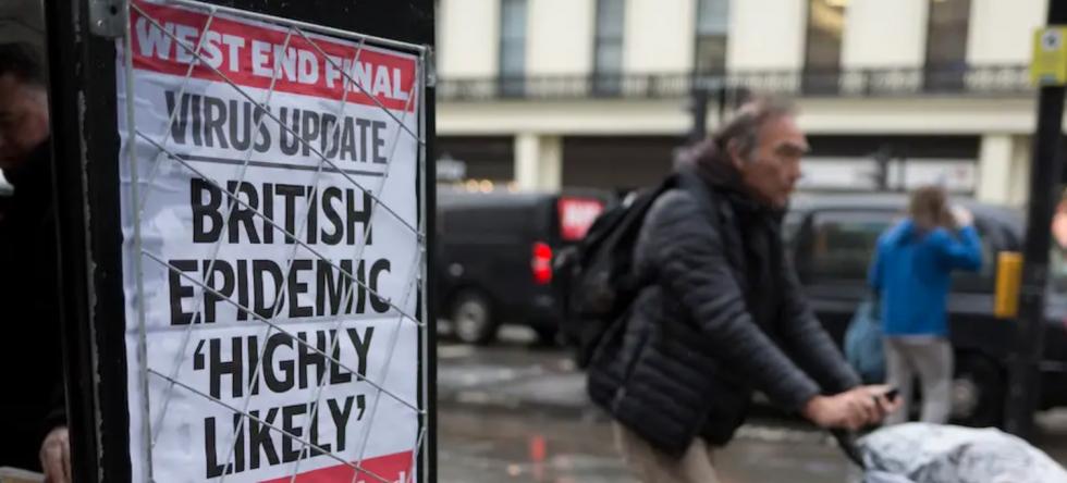 Wielkiej Brytanai: W ciągu ostatniej doby z powodu koronawirusa zmarły 33 osoby