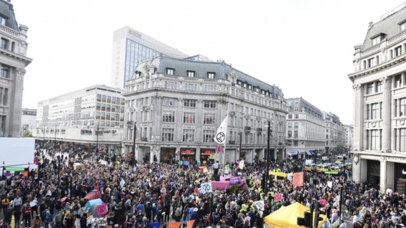480 aresztowanych w związku z protestami ws. klimatu