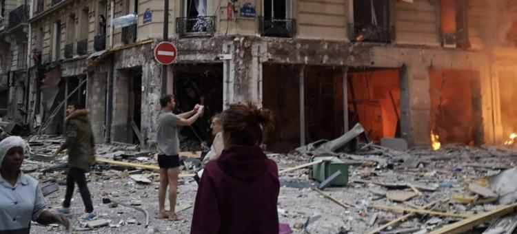 Silna eksplozja w Paryżu