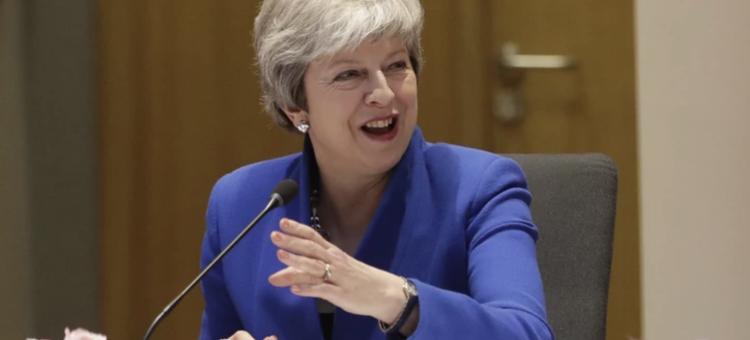 Theresa May zwróciła się na szczycie o dłuższe odroczenie brexitu z opcją wcześniejszego wyjścia
