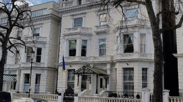 Londyn: strzały w pobliżu ambasady Ukrainy