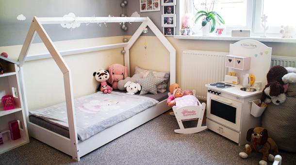 Łóżko domek, funkcjonalne meble i dodatki czyli 10 porad jak urządzić pokój dla dziecka