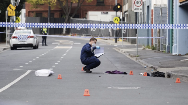 Strzelanina pod nocnym klubem w Melbourne