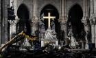 Katedra Notre Dame jest niestabilna. Silny wiatr może spowodować zawalenie